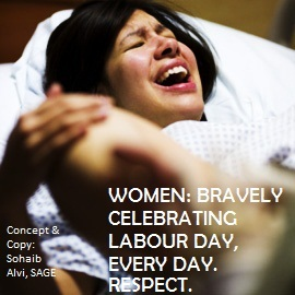 women & labour Day 1